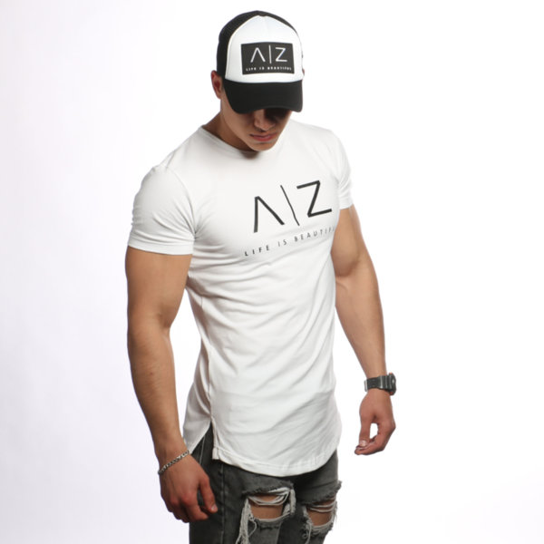 AZ Men T-shirt - WHITE